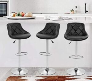 swivel bar stools with leather seat