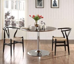 wooden bar stools for kitchen area
