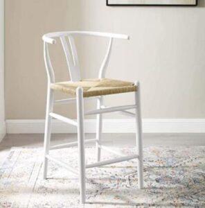 amish white bar stools