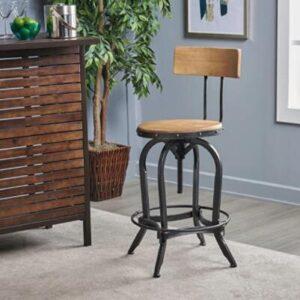antique metal bar stools