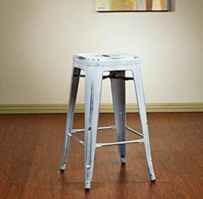 antique oak bar stools