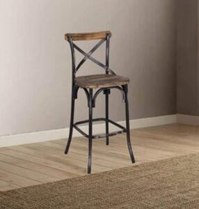 antique white swivel bar stools