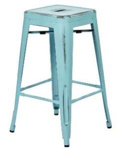 antique industrial bar stools