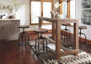 ashley north shore bar stools