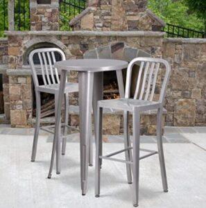 aluminium bar stools with mid back