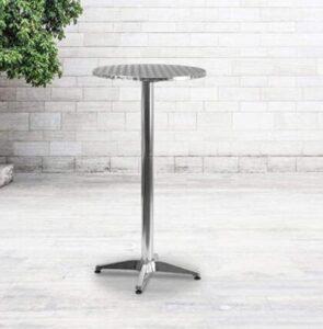 metal aluminium bar stools