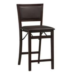 mid back wooden counter stools