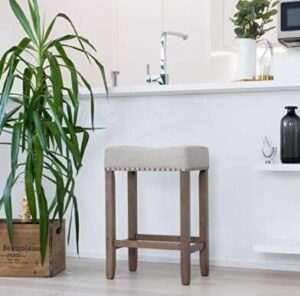 square leather counter stools