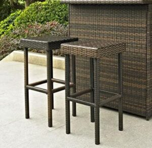 affordable wicker bar stools