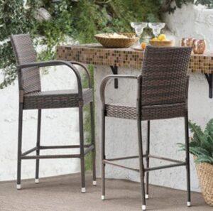 high back bar stools
