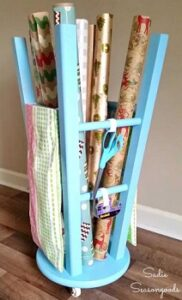 repurpose old bar stools