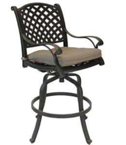 aluminium bar stools for outdoor use