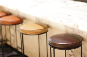 pick the backless kitchen bar stools