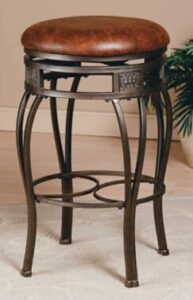 round metal bar stools