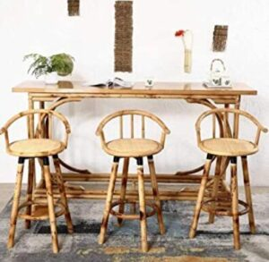 cheap bamboo bar stools