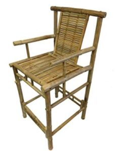 outdoor bamboo bar stools