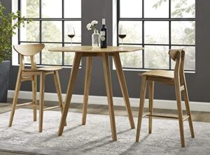 solid bamboo counter stools
