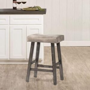 small wooden kitchen bar stools