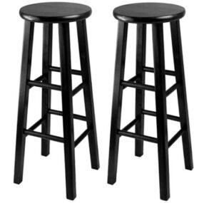 sturdy wooden bar stools