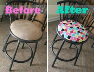 refurbish bar stools