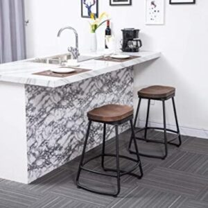 backless modern bar stools