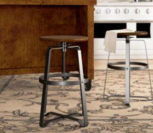 modern backless bar stools types