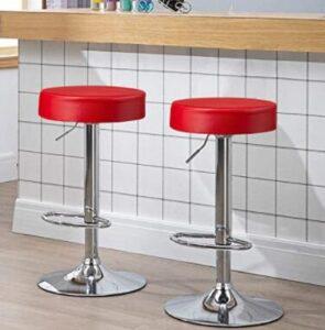 swivel round seat bar stools