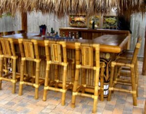 how to choose bamboo bar stools