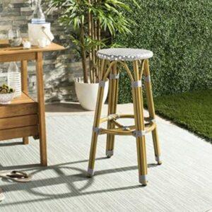 compact bamboo bar stools