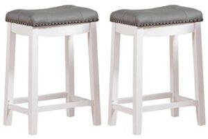 square backless bar stools