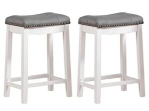 modern backless bar stools