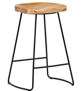 metal backless bar stools