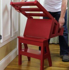 modern folding step stool