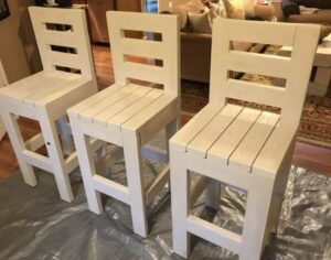 what are farmhouse bar stools