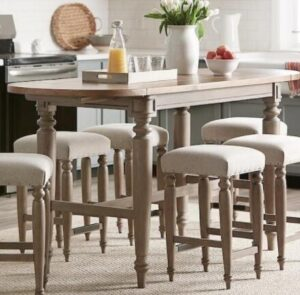 backless leather counter stools