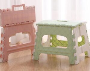 foldable 2 step stool