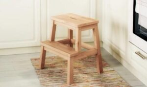 kitchen stool step ladder