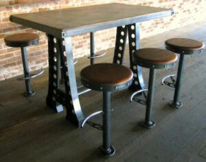 how to bolt down bar stools