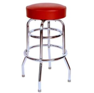 cheap price red bar stools