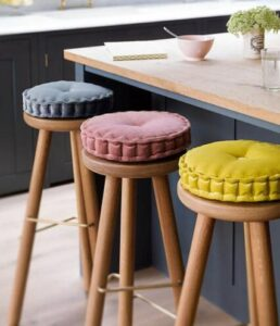 methods on adding cusioned bar stools