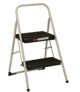 one step folding step stool