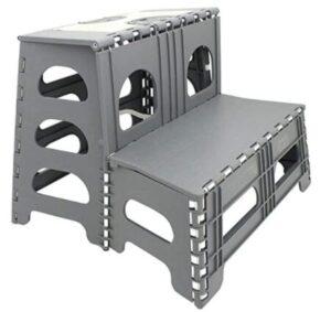 compact folding step stool