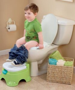 soft potty seat and step stool