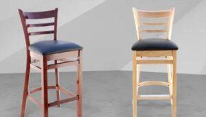 bar stools spacing