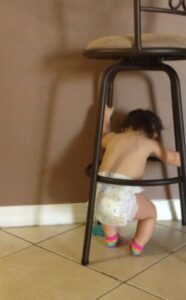 best way to use baby proof bar stools