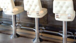 instructions on bolting down bar stools