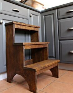 fold up step stool kitchen