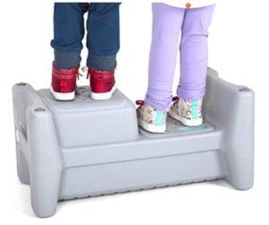 dual kids step stools
