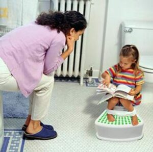 potty chair and step stool