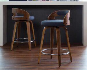 high back swivel bar stools with backs